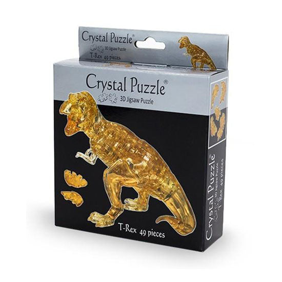 Crystal Puzzle:T-Rex Brown