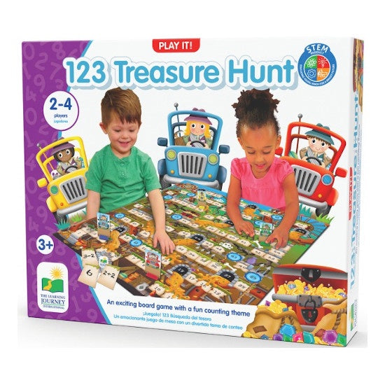 Play It Game - 123 Treasure Hunt