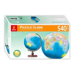 "Globe of the World - 9"" Puzzleball 3D 540 pce"