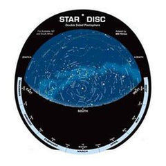 Planisphere Large Star Disc Black