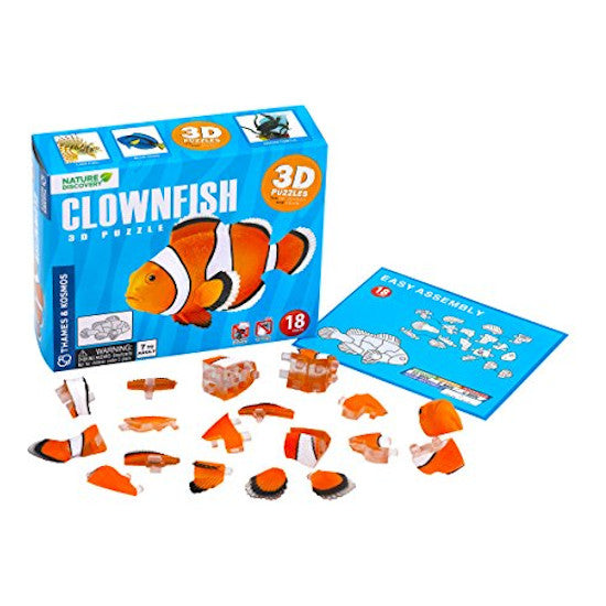 3D Puzzle Clown Fish