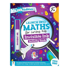 Inkredibles: Launch into Maths Invisible Ink Activity Book