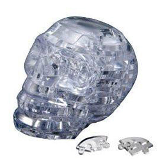 Crystal Puzzle:Clear Skull