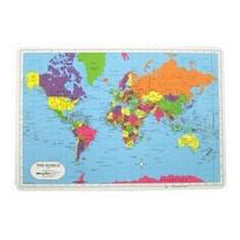 Placemat:Map World