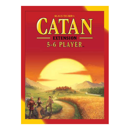 Catan:5-6 Players 5th Edition