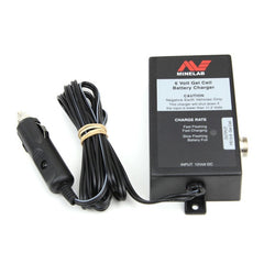 Battery, Minelab 6V Gel Cell Battery Charger, 12V Car Charger