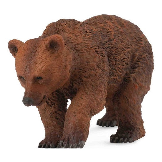 Brown Bear Cub Figurine S