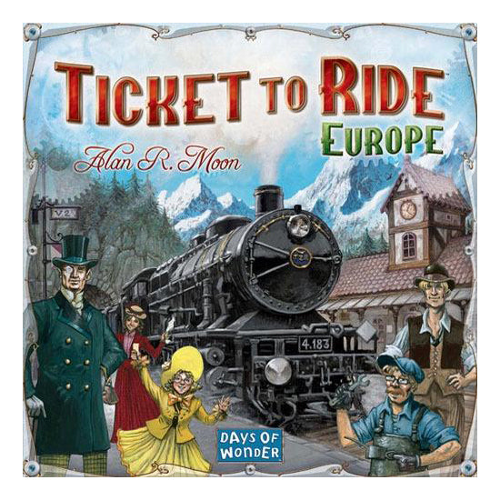 Ticket to Ride:Europe