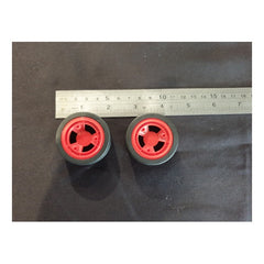 BrainBox Spare Part BB#Pk of 2 Red Wheels