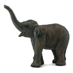 Asian Elephant Calf Figurine S