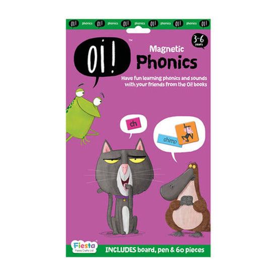 Oi ! Magnetic Phonics, 3-6yrs