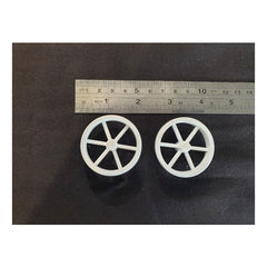 BrainBox Spare Part BB#Pk of 2 White Wheels