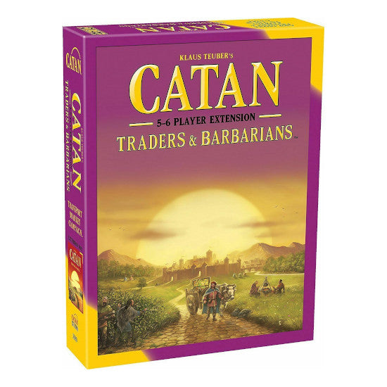 Catan:Barbarians&Traders 5-6 Players 5th Edition