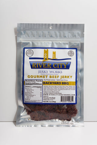 Backyard Barbecue Beef Jerky!