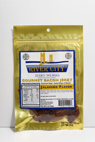 Spicy Jalapeño Bacon Jerky!