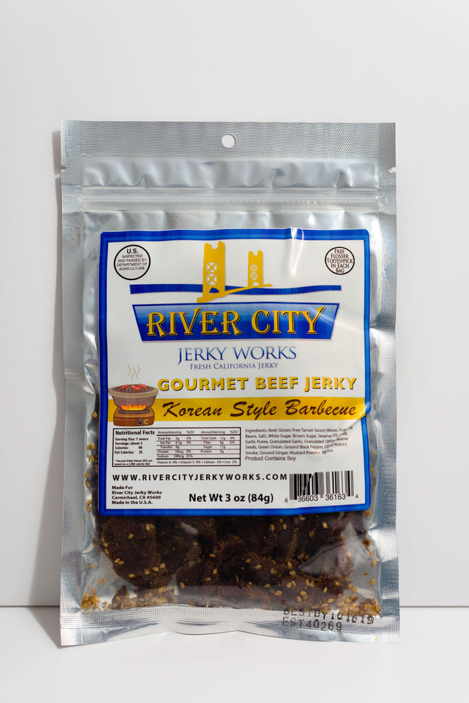 Korean Barbecue Beef Jerky!