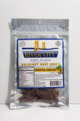 Tropical Teriyaki Beef Jerky!