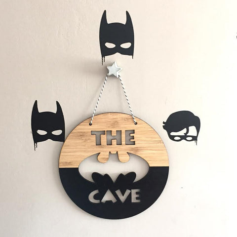 The Bat Cave Wall Hanging