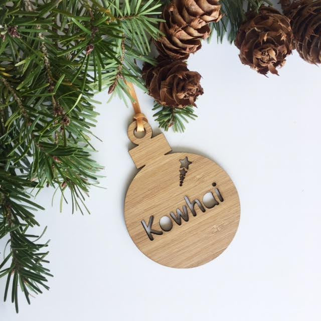 Custom Name Christmas Decorations – Inscribe Design