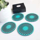 Spirograph Coasters