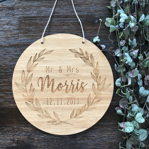 Wreath Wall Hanging