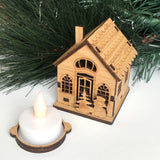 Christmas Cottage Tealight