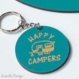 Happy Campers Key Ring
