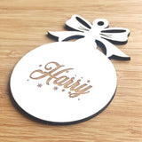 Custom Engraved Christmas Decorations