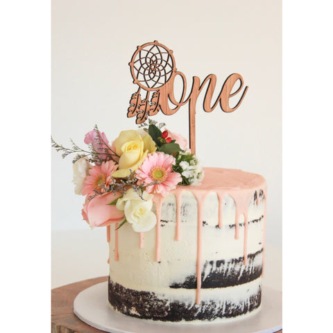 Cake toppers inscribe design number dreamer cake topper junglespirit