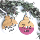 Custom Name Christmas Decorations