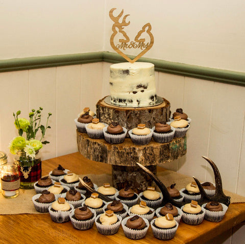 Stag & Doe Cake Topper