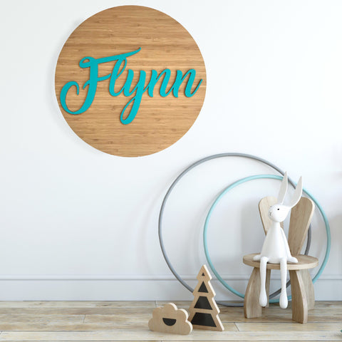 3D Name Wall Hanging