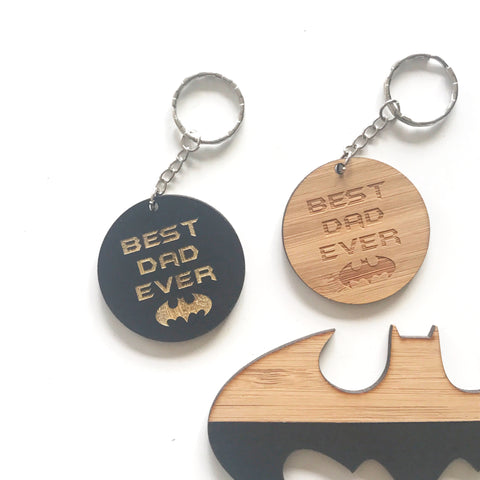 Best Dad Ever Key Ring (Style 3)