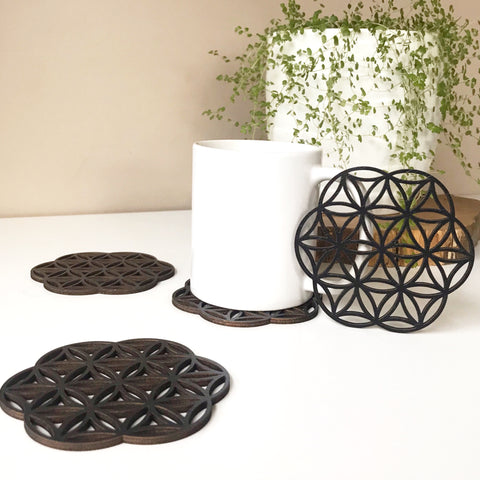 Flower Of Life Coasters