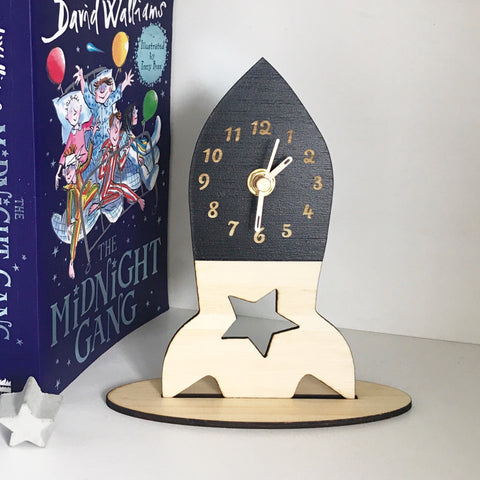 Rocket Desk Clock