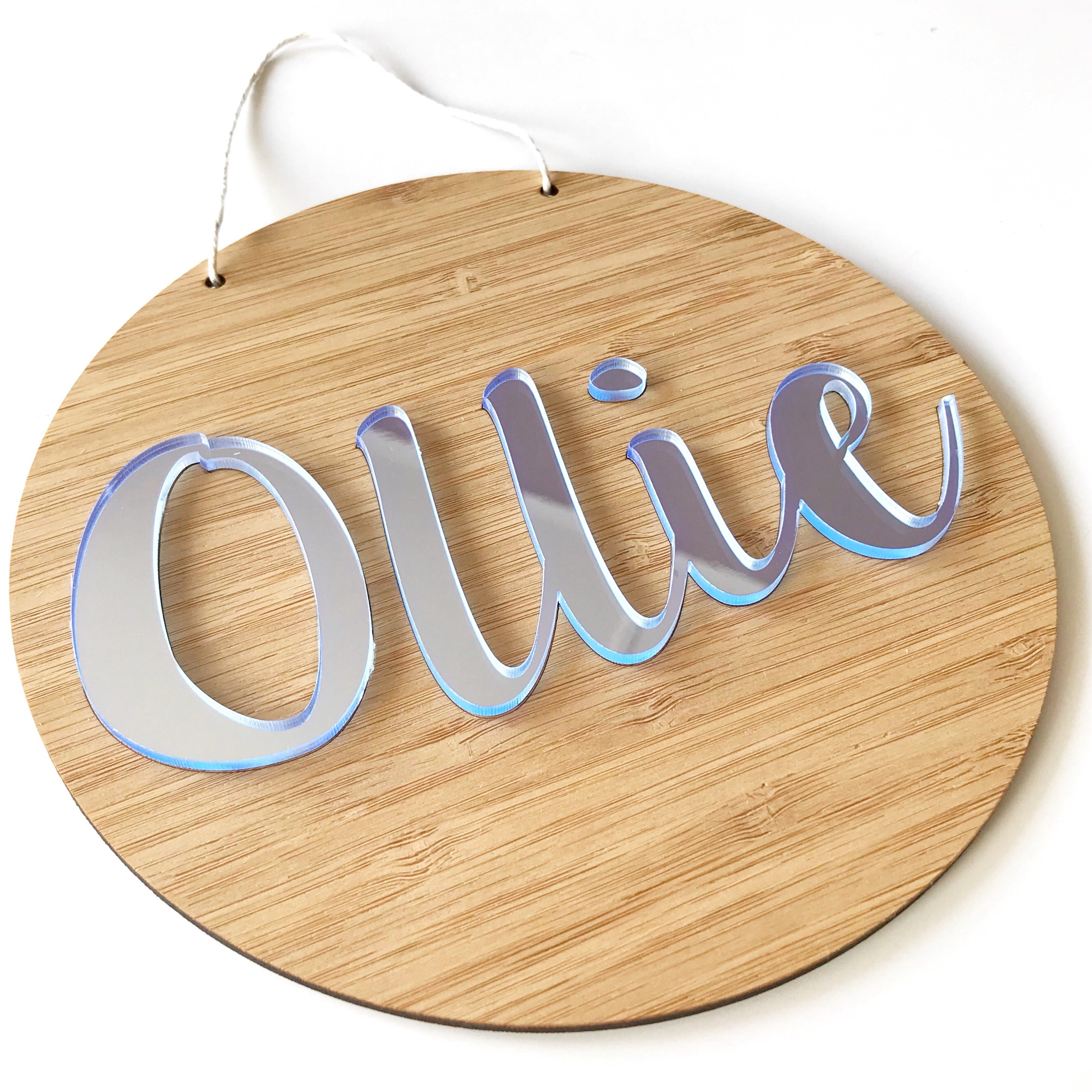 3D Name Wall Hangings – Inscribe Design