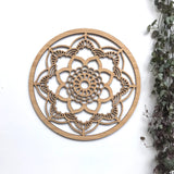 Lace Mandala Wall Hanging