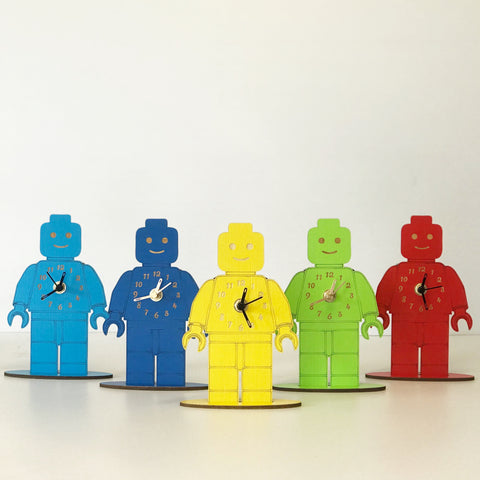 Brick Man Clock