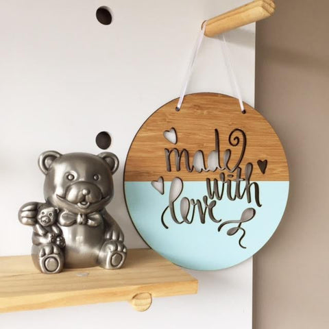 Made with Love Wall Hanging