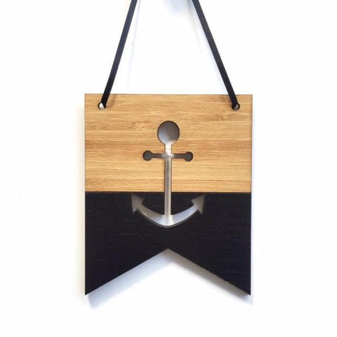 Anchor Mini Flag