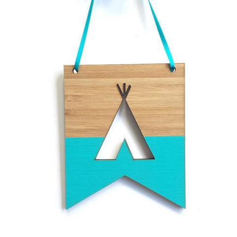 Teepee Mini Flag
