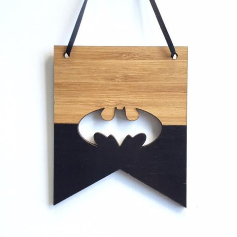 Bat Mini Flag