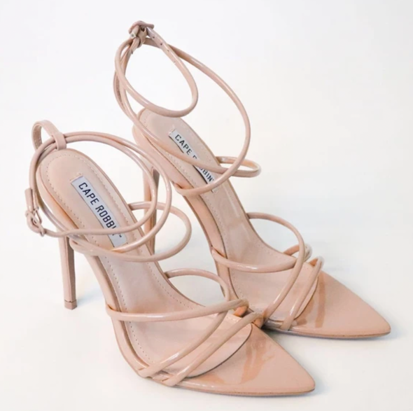 The Autumn nude heels by LRJ Boutique