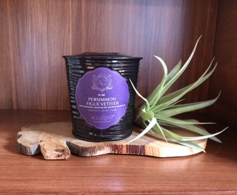 aquiesse persimmon figue vetiver candle