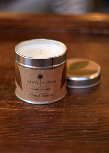 honey tobacco candle by rosy rings