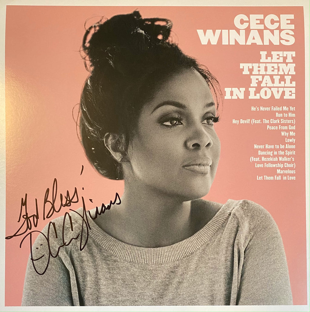 "Let Them Fall in Love - Autographed 12""x12"" Poster"