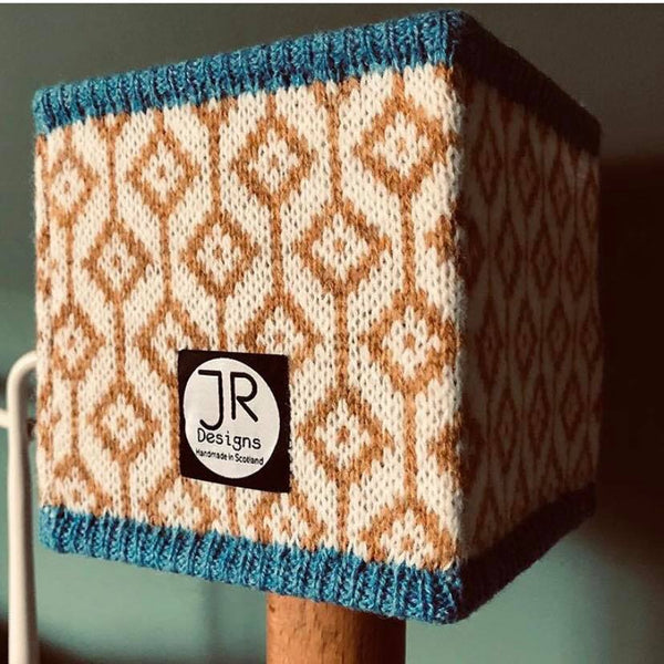 JaneR Designs Knitted Lampshade