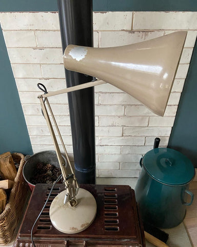 Anglepoise lamp before restoration