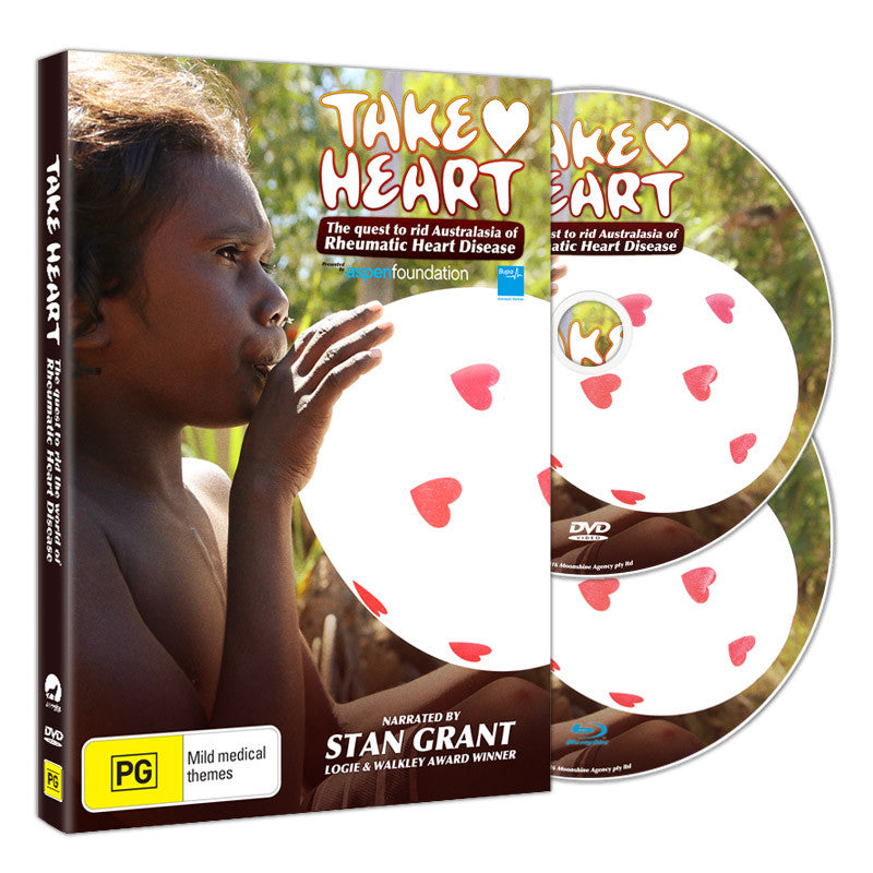 TAKE HEART - BLU-RAY/ DVD - LIBRARY & INSTITUTIONAL USE