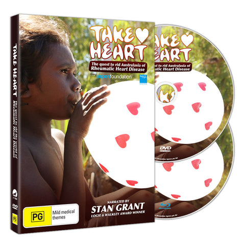 TAKE HEART - BLU-RAY/ DVD